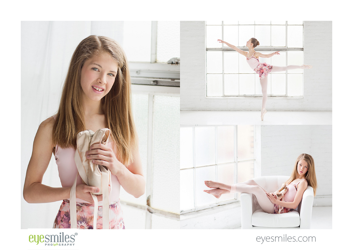 Pointe shoes photography